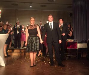 Manschuko Prinzenpaar 2016/2017 Rebecca und Bastian